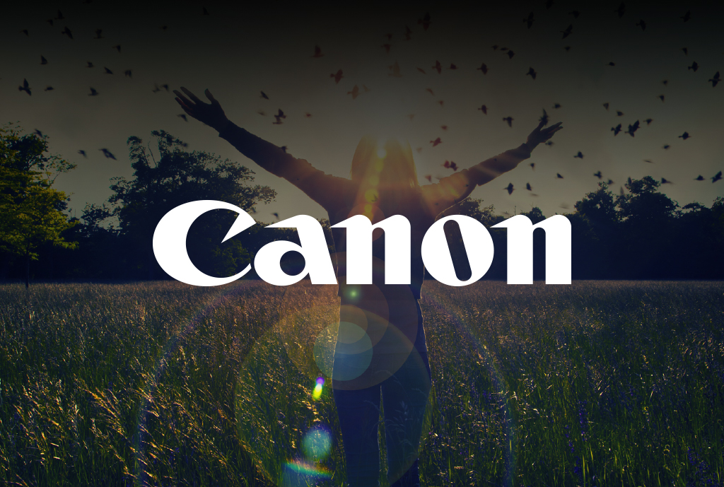 case studies - canon - logo