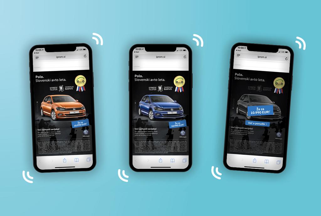 case studies - volkswagen - shake ad - logo