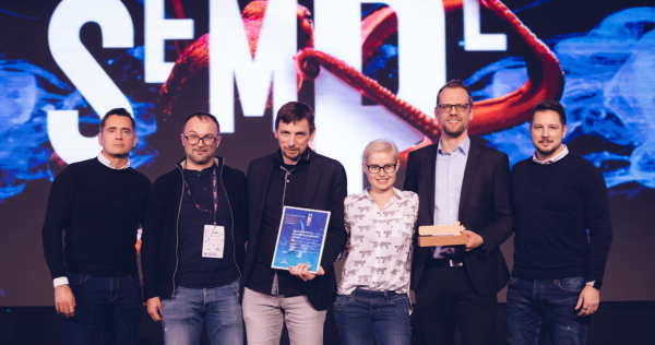 iPROM received the Golden Sempler for the best use of data - iPROM News